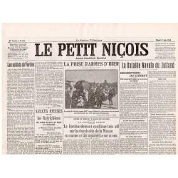 6 juin 1916 - Le Petit Niçois (4 pages)