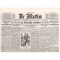 24 juin 1916 - Le Matin (4 pages)