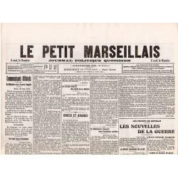 28 juin 1916 - Le Petit Marseillais (4 pages)