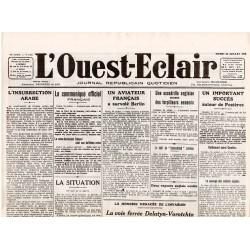 25 juillet 1916 - L'Ouest-Eclair (4 pages)