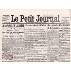 4 juillet 1916 - Le Petit Journal (4 pages)