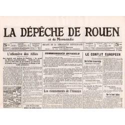27 juillet 1916 - La Dépêche de Rouen (4 pages)