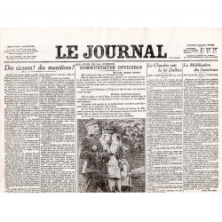 27 juin 1915 - Le Journal (4 pages)