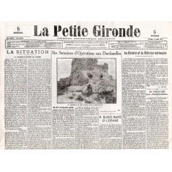 17 juin 1915 - La Petite Gironde (4 pages)