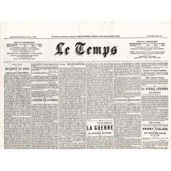 30 mai 1915 - Le Temps (4 pages)