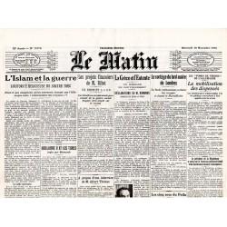 10 novembre 1915 - Le Matin (4 pages)
