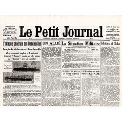 20 mars 1915 - Le Petit Journal (4 pages)