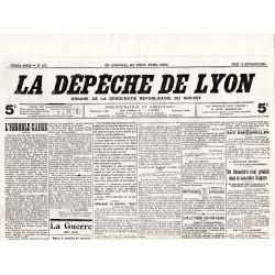 30 septembre 1915 - La Dépêche de Lyon (4 pages)