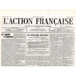 22 mars 1915 - L'Action Française (2 pages)