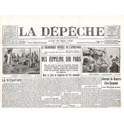 22 mars 1915 - La Dépêche (4 pages)