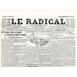11 mai 1915 - Le Radical (4 pages)