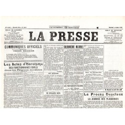 26 mars 1915 - La Presse (2 pages)