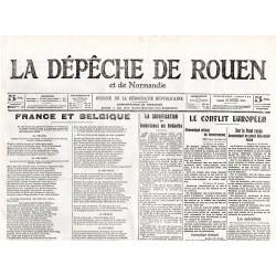 22 février 1915 - La Dépêche de Rouen (4 pages)