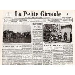 1 décembre 1914 - La Petite Gironde (4 pages)