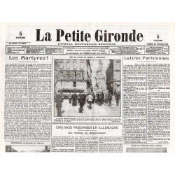 20 février 1915 - La Petite Gironde (4 pages)
