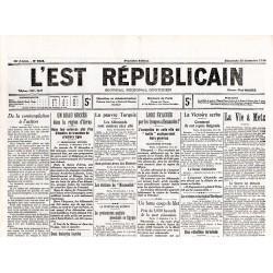 20 décembre 1914 - L'Est Républicain (4 pages)