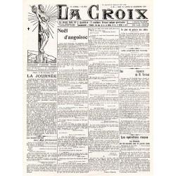 28 décembre 1914 - La Croix (8 pages)
