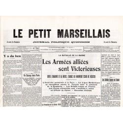 12 septembre 1914 - Le Petit Marseillais (4 pages)