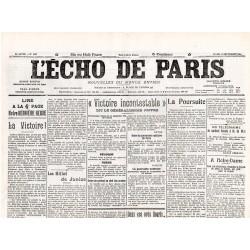 14 septembre 1914 - L'Echo de Paris (4 pages)