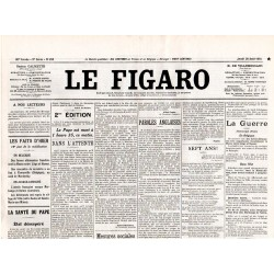 20 août 1914 - Le Figaro (4 pages)