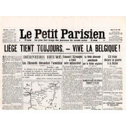 8 août 1914 - Le Petit Parisien (2 pages)