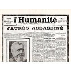 1 août 1914 - L'Humanité (4 pages)
