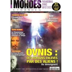 Mondes Étranges n° 9 - OVNIS : Des humains enlevés par des Aliens !