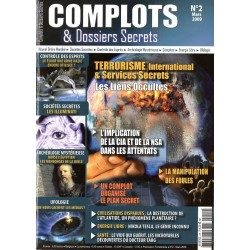 Complots & Dossiers Secrets n° 2 - Terrorisme international & Services Secrets