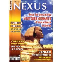 Nexus n° 33 - Sous les pyramides, vestiges gênants d'une science avançée