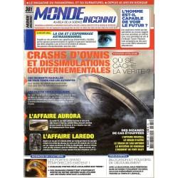 Monde Inconnu n° 381 - Crashs d'Ovnis et dissimulations gouvernementales