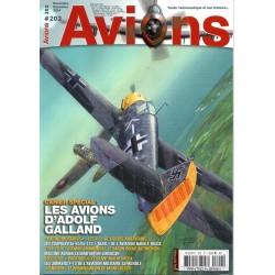 Avions n° 202 -  Les Avions d'Adolf Galland