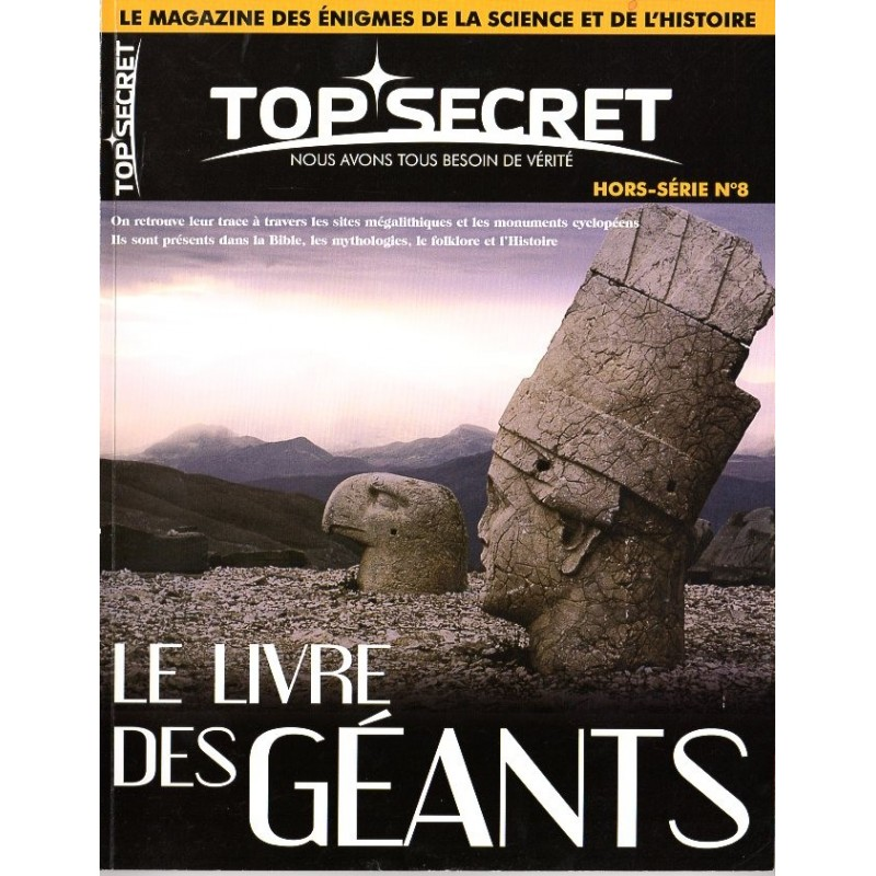 Top Secret n° 8H (Hors-série) - Le Livre des Géants