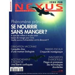Nexus n° 106 - Phénomène prânique, se nourrir sans manger ?