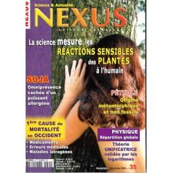 Nexus n° 35 - La Science mesure les réactions sensibles des plantes à l'humain