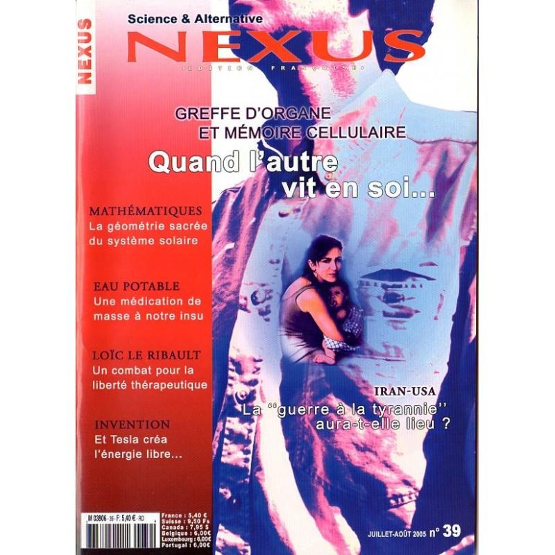 Nexus n° 39 - Greffe d'organe et la mémoire cellulaire