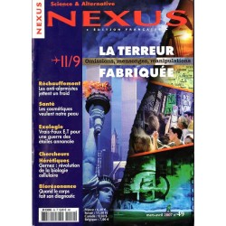Nexus n° 49 - 11/9, la Terreur Fabriquée, mensonges, omissions, manipulations