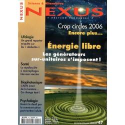 Nexus n° 47 - Energie Libre, Crop Circles 2006 ...