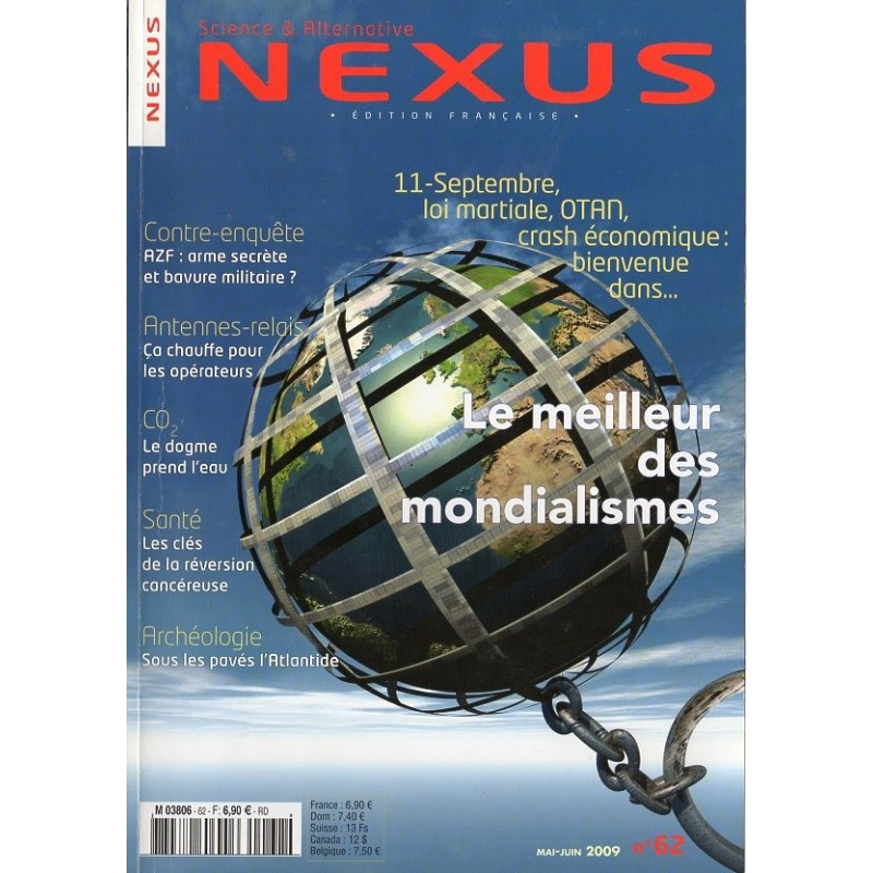 Nexus n° 62 - Le meilleur des mondialismes