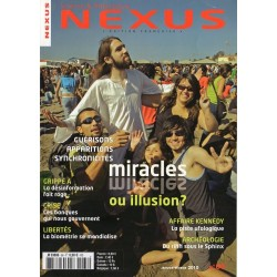 Nexus n° 66 - Guérisons, apparitions, synchronicité : miracles ou illusions ?