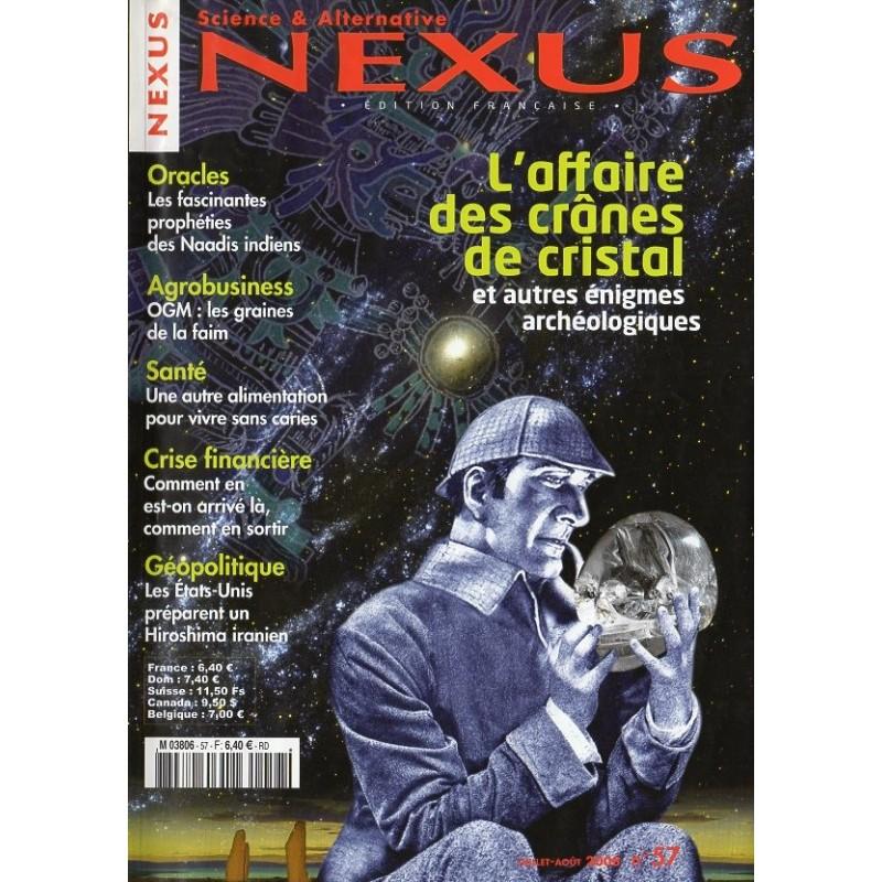 Nexus n° 57 - L'affaire des crânes de cristal et autres énigmes archéologiques