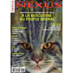 Nexus n° 56 - A la rencontre du peuple animal, conscience, intelligence, 6e sens