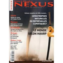 Nexus n° 58 - Le monde selon Haarp - Catastrophes naturelles ou représailles climatiques ?
