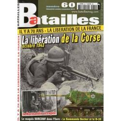 Batailles n° 60 - La libération de la Corse - Octobre 1943