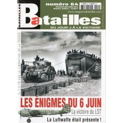 Batailles n° 64 - Les énigmes du 6 juin 1944