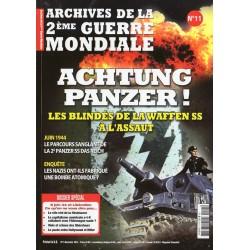 Archives de la 2eme Guerre Mondiale n° 11 - Achtung Panzer !