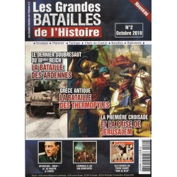 Les Grandes Batailles de l'Histoire n° 2H - La Bataille des Ardennes - La Bataille des Thermopyles - La Prise de Jérusalem