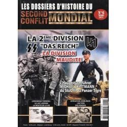 Les Dossiers du Second Conflit Mondial n° 6 - La 2ème Division SS Das Reich, la division maudite