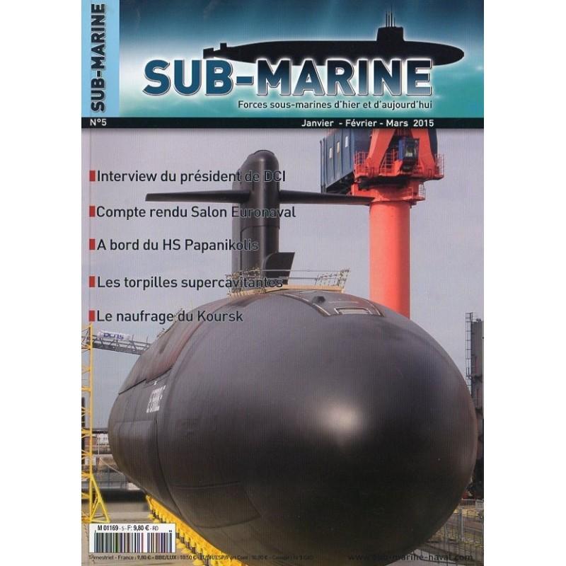 Sub-Marine n°5 - A bord du HS Papanikolis