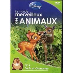 Monde merveilleux des Animaux n° 3 - Cerfs et Chouettes - DVD Zone 2