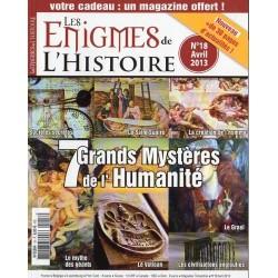 Les Enigmes de l'Histoire n° 18 - 7 Grands Mystères de l'Humanité